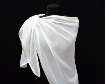 ivory  wrap, ivory, shawl, bridal shawl, bridal stole, accessory,bridal cover up