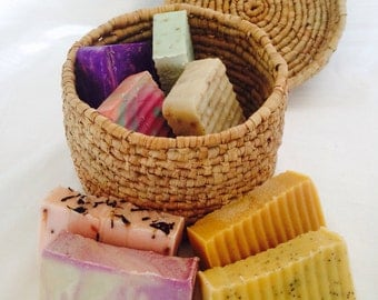 3 homemade soaps for 20: Artisan soap special on handmade, coconut oil soaps. Pick three Deal Package Sale Bundle Mix and Match wholesale