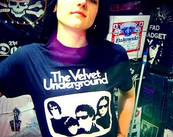Velvet Underground t shirt White Light/White Heat nico Lou Reed