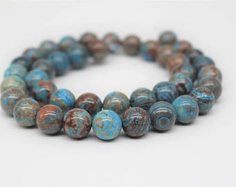 Crazy Blue Lace Agate Gemstone Round Loose beads 6/8/10/12mm