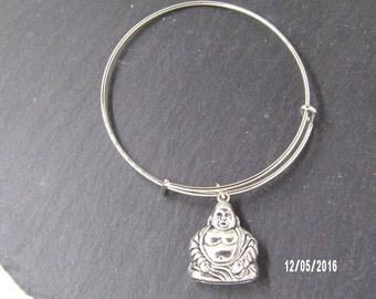 B1220 Metal Bracelet with Buddha