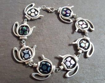 Handmade Electro Teapots Bracelet