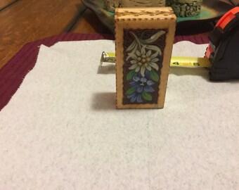 Decorative German Wooden Box (Free Shipping)