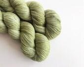 Shamrock on Standard Sock Handdyed Yarn