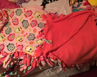 Childs security/ cuddle blanket