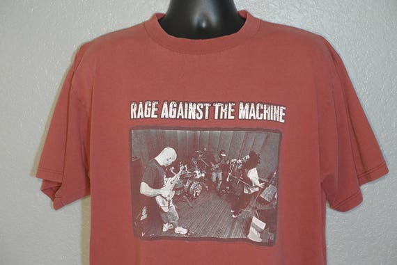 1997 Rage Against The Machine - Giant Concert Vintage T-Shirt