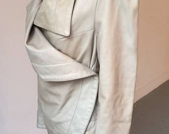 Vivienne Westwood Anglomania leather jacket / size 42