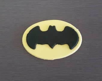 6 x Batman Cupcake toppers