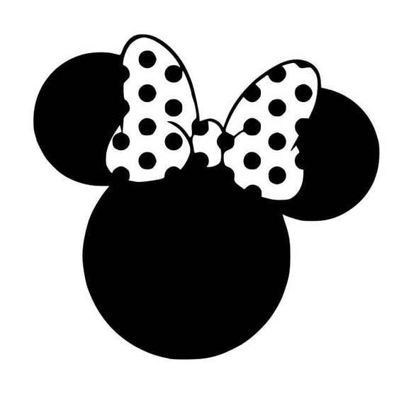 Minnie Mouse svg Disney svg cartoon svg dxf cricut