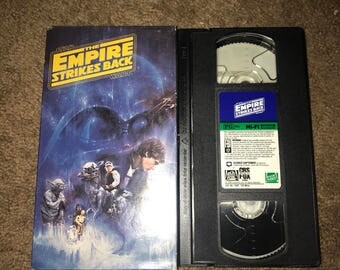 The Empire Strikes Back, vhs