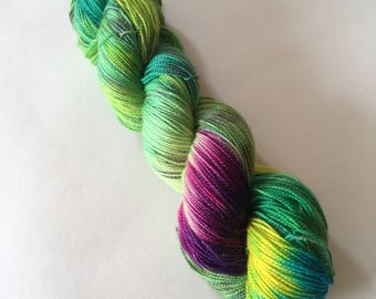 Rainforest Sparkle Sock