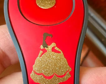 Belle Beauty and the Beast Magic Band Decal!