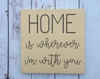 Home | Wood Sign | Painted Wood Sign | Home Decor | Wall Decor | Home