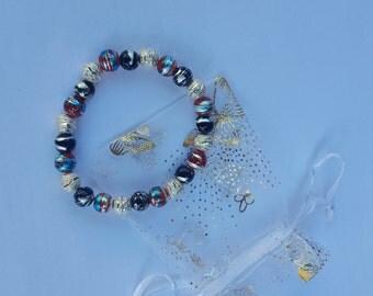 Drawbench Stretch Beaded Bracelet