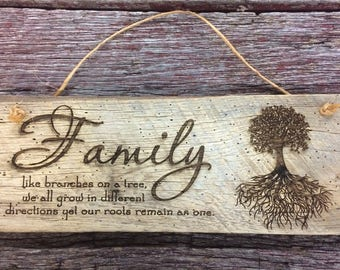 Rustic Wood Sign, Rustic Home Decor, Home and Living, Barn Wood decor, Barn Wood Sign