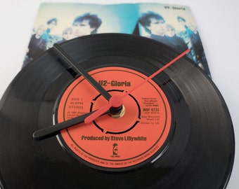 "U2 - 'Gloria' 7"" record Clock"