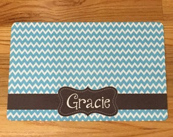 Personalized Pet Placemat | Pet Mat |  Pet Bowl Mat | Dog Placemat