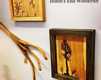 Lichtenberg Tree on Wood