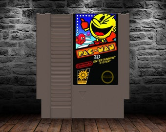 Pac-Man 3D - Classic Pac-Man Gameplay with robust setting! - NES - ROMHack - Ms Pac-Man