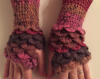Dragonscale Gloves (Ready to send)