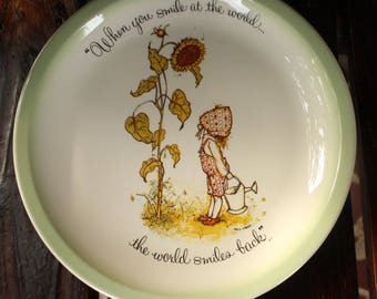 Holly Hobbie Collector's Edition Plate 1982