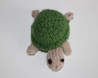 Knitted 'Timmy' the Turtle