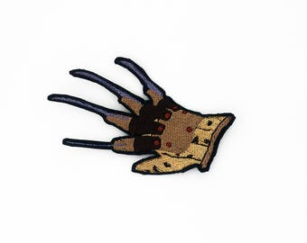 Freddy Krueger's Glove Patch, A Nightmare on Elm Street Patch, Horror Movie Patch, Freddy Patch, Modern Monster, Classic Horror Movie, Cult