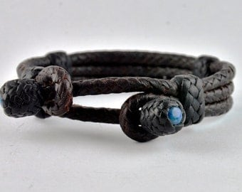 7.25 inch Women's Kangaroo Leather Bracelet.