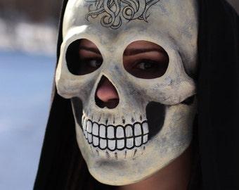 Skull mask. Halloween mask. Pirate mask. Jolly Roger.