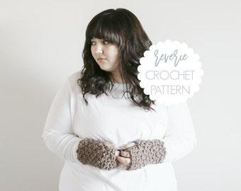 PATTERN | Reverie Handmade Chunky Crochet Fingerless Gloves | THE WATERFORDS
