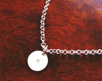 Personalized Disk Necklace