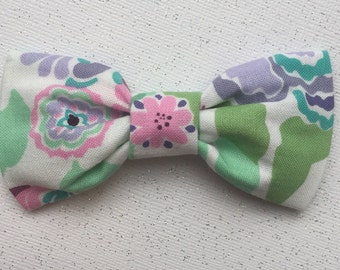 Lily Pulitzer 2 inspired girl/baby/toddler bow
