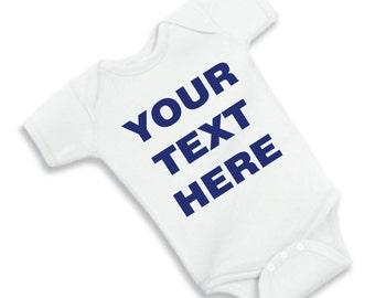 Custom Infant Bodysuit and Infant T-shirt
