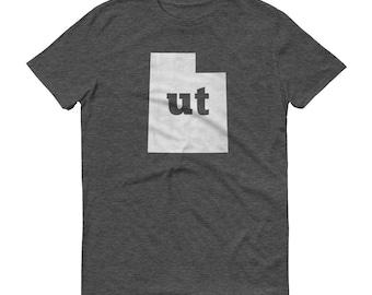 Utah Tshirt, Utah, Utah Shirt, UT Shirt, Utah State, Utah Tee, Utah State Pride, Utah Gifts, Utah Map, UT Shirt, UT TShirt, Tee