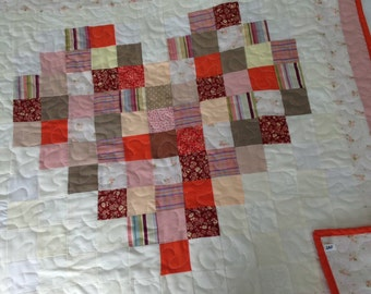 Patchwork Quilt - Heart
