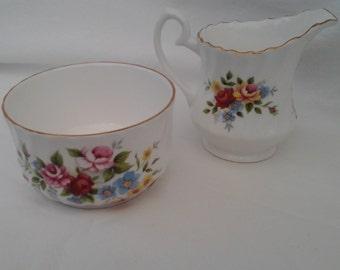 Royal Kendal Milk Jug and Sugar Bowl set