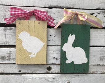 Easter decorations, Easter decor, wall art, pallet wall sign, pallet wall decor