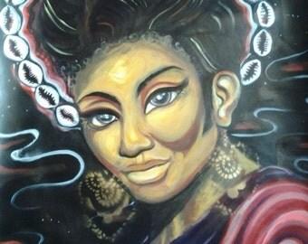 Lt. Queen Uhura (Print)