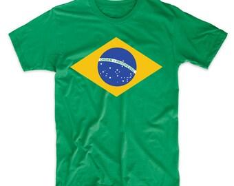Brazilian Celestial Globe From Flag Of Brazil T-Shirt