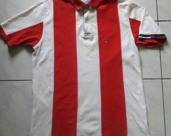 Sale! Rare Vintage Tommy Hilfiger Tshirt / Large