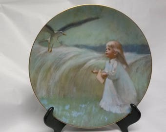 A Friend in the Sky Collectors Plate