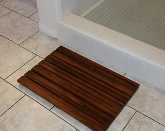 Brown Fluffy Bath Rug