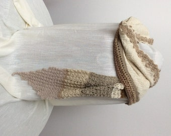 Beautiful and very romantic scarf for women.