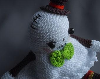 Ghost Toy, Amigurumi Doll,  Crochet Amigurumi, Toys For Kids, Just Little Ghost, Ghostbusters Costume, Hand Knit Ghost Amigurumi Toy, Spirit