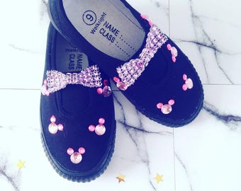 Gems and bow shoes