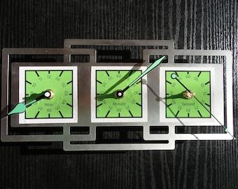 Rectangular Clock Etsy