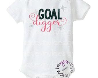 Goal Digger Shirt/Onesie