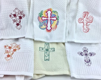 Snapping Kitchen Towels, Crosses