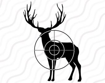 Buck SVG, Deer SVG, Deer Hunting Buck SVG Cut table Design,svg,dxf,png Use With Silhouette Studio & Cricut_Instant Download
