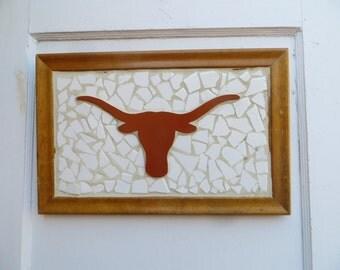 LONGHORN Tile Art Picture
